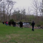 Walking Meditation at the Sangha