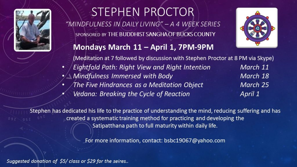 Mindfulness in Daily Living (MIDL) by Stephen Proctor
